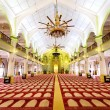 Interior of the Sultan Mosque in Singapore — Stock Photo #70148841