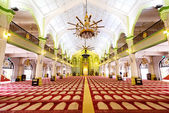 Interior of the Sultan Mosque in Singapore — Stock Photo