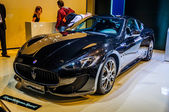 MOSCOW, RUSSIA - AUG 2012: MASERATI GRANTURISMO SPORT presented as world premiere at the 16th MIAS (Moscow International Automobile Salon) on August 30, 2012 in Moscow, Russia — Stock Photo