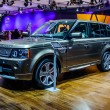 ������, ������: MOSCOW RUSSIA AUG 2012: LAND ROVER RANGE ROVER 3RD GENERATION