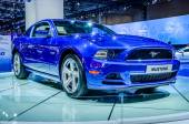 MOSCOW, RUSSIA - AUG 2012: FORD MUSTANG 5TH GENERATION presented as world premiere at the 16th MIAS Moscow International Automobile Salon on August 30, 2012 in Moscow, Russia — Stock Photo