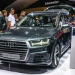 Постер, плакат: FRANKFURT SEPT 2015: Audi Q7 3 0 TDI quattro presented at IAA