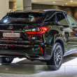Постер, плакат: FRANKFURT SEPT 2015: Lexus RX450h presented at IAA Internation
