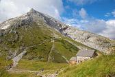 Alps - Watzmann peak from Watzmannhaus chalet — Stock Photo