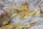 Alps beck under the Dachstein peak in the calcite rock - Austria — Stock Photo