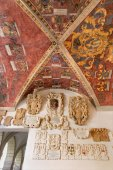 Padua - The ceiling and entry to atrium of Palazzo del Bo — ストック写真