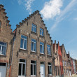 ������, ������: Bruges Typicaly brick house from Sint Annarei street