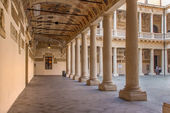 Padua - The atrium of Palazzo del Bo — Foto Stock