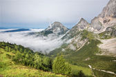 Alps under the south face of Dachstein massif - Austria — Stock Photo