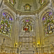 ������, ������: BRUSSELS BELGIUM JUNE 16 2014: The Maes chapel in gothic cathedral of Saint Michael and Saint Gudula