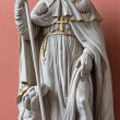 MECHELEN, BELGIUM - JUNE 14, 2014: The statue of st. Roch st. Katharine church or Katharinakerk. — Stock Photo #54232591