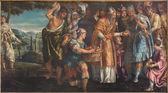 VENICE, ITALY - MARCH 14, 2014: The Sacrifice of Melchizedek by Parrasio Michieli (1526 - 1578) in church San Francesco della Vigna. — Stock Photo