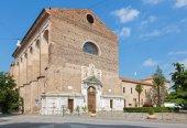 Padua - The church Basilica del Carmine. — Stock Photo