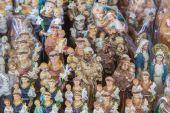 PADUA, ITALY - SEPTEMBER 10, 2014: The religion Souvenirs from Basilica of st. Antony of Padua (Basilica del Santo). — Stock Photo