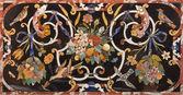 PADUA, ITALY - SEPTEMBER 8, 2014: The stone mosaic on the side altar of Basilica di Santa Giustina. — Stock Photo