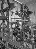 Clockwork from colcktower — Stock Photo