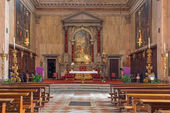 VENICE, ITALY - MARCH 13, 2014: Chiesa di San Trovaso church. — Stockfoto