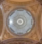 SEVILLE, SPAIN - OCTOBER 28, 2014: The cupola of baroque Church of El Salvador (Iglesia del Salvador) designed by Esteban Garcia (1674). — Stock Photo