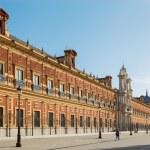 Seville - The Palace of San Telmo (Palacio San Telmo) — Stock Photo #59113681