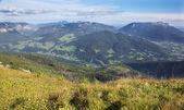 Alps - Outlook from Watzmannhaus chalet — Stock Photo