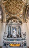 PADUA, ITALY - SEPTEMBER 9, 2014:  The chapel Cappella di San Gregorio Barbarigo in the church Cathedral of Santa Maria Assunta (Duomo) — Stock Photo