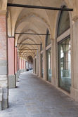 Padua - Typically porticoes — Stock Photo