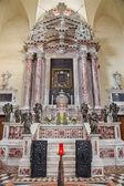 "PADUA, ITALY - SEPTEMBER 9, 2014: The baroque chapel ""Altare del Santtisimo"" (1655 - 1670) designed by Giuiseppe Sardi in the church Santa Maria dei Servi. — Stock Photo"