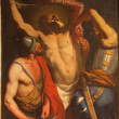 Постер, плакат: PADUA ITALY SEPTEMBER 10 2014: The Martyrium of Saint Bartholomew the apostle by unknown painter of 18 cent in the little chapel on Piazza del Santo