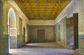 SEVILLE, SPAIN - OCTOBER 28, 2014: The one of halls of Casa de Pilatos. — Stock Photo