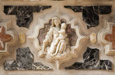 Venice - holy mary from altar of st. Peters church - Murano — Stock Photo
