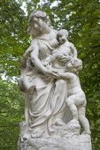 Brussels - mythology statue from King s park — Foto Stock