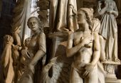 Pisa - statue from interior of cathedral — Stockfoto