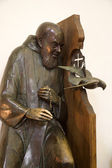 Florence - Father Pio statue — Stockfoto