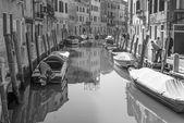 VENICE, ITALY - MARCH 12, 2014: Fondameneta delle Eremite street and canal Rio delle Eremite — Stock Photo