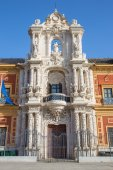 Seville - The Palace of San Telmo (Palacio San Telmo) — Stock Photo