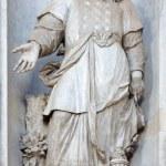 VENICE, ITALY - MARCH 11, 2014: Statue of prophet Aron (1738 - 1755) from church Santa Maria del Rosario (Chiesa dei Gesuati) by  Giovan Maria Morlaiter — Stock Photo #63545251
