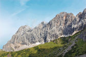 The south face of Dachstein massif - Austria — Stock Photo