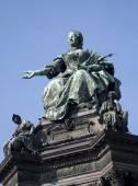 Vienna - queen Maria Theresia landmark — Stock Photo