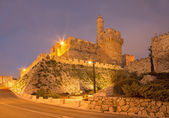 Jerusalem - The tower of David at dusk — Stock Photo