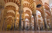 CORDOBA, SPAIN - MAY 28, 2015: The Naves of Abd-Ar-Rahman I in the Cathedral. — Stock Photo