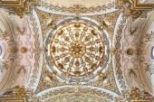 GRANADA, SPAIN - MAY 29, 2015: The baroque cupola in Iglesia de san Anton church by  Alfonso Castillo from 18. cent. — Stock Photo