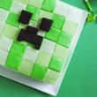 Постер, плакат: Cake Minecraft for Birthday