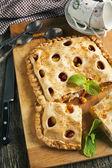 Peach pie — Stock Photo
