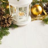 Christmas decoration. Selective focus — Stock Photo