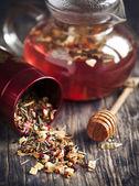 Dragonfruit Herbal Tea. Selective focus — Photo