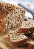 Whole Grain Bread. Selective focus — Stock Photo