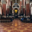 Interior of a Roman Catholic church — Stock Photo #73838077