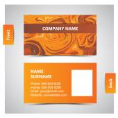 PrintVector abstract creative business cards — Stockvector