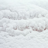 Snow texture for the background — Stock Photo