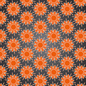 Floral seamless pattern for wallpaper and page background — Stockvektor